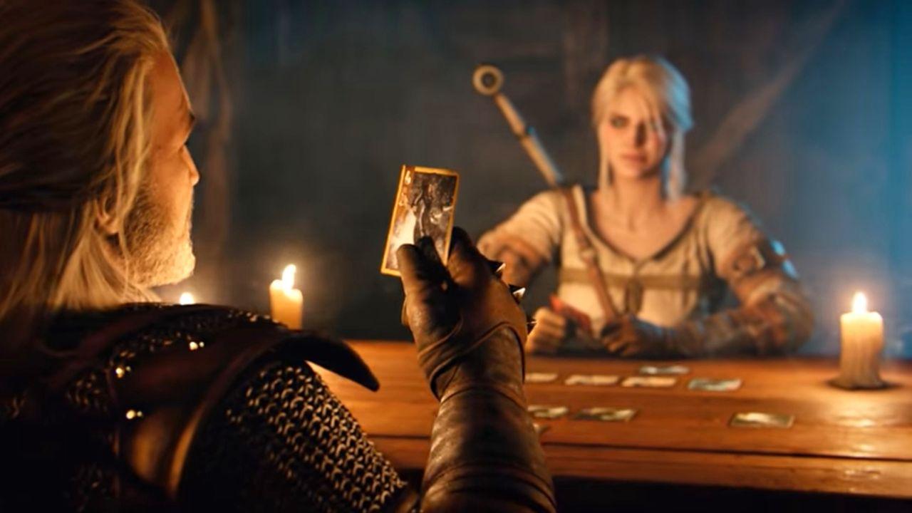 Geralt gra w Gwinta