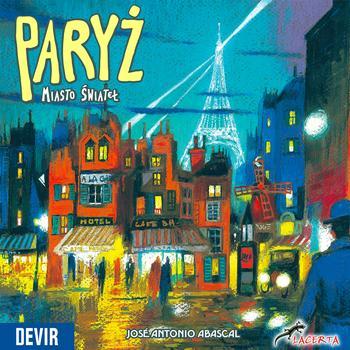 Paryż: Miasto Świateł (Okładka gry)