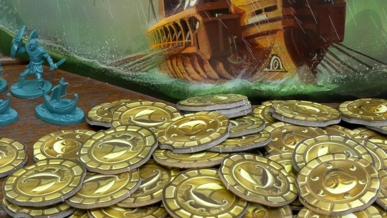 """Monety (złoto) z gry """"Cyklady"""""""