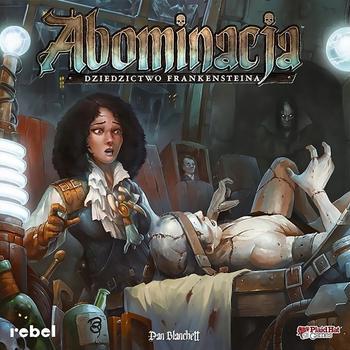 Abominacja: Dziedzictwo Frankensteina (Okładka gry)