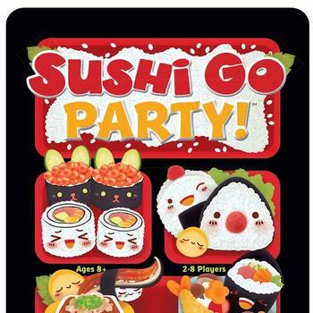 Sushi Go Party! (Okładka gry)