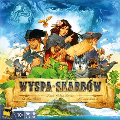 Wyspa Skarbów: Złoto Johna Silvera (Okładka gry)