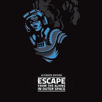 Escape from the Aliens in Outer Space (Okładka gry)