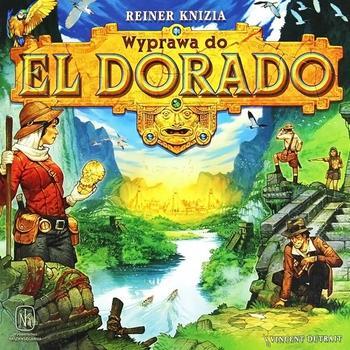 Wyprawa do El Dorado (Okładka gry)