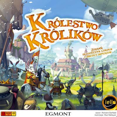Królestwo Królików (Okładka gry)