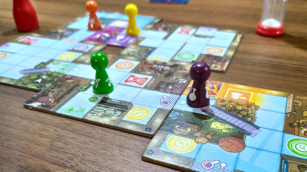Magic Maze – Weź i czmychaj, proj. Kasper Lapp
