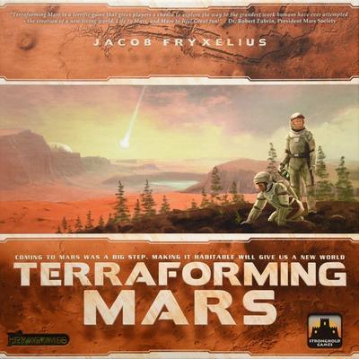 Terraformacja Marsa (Okładka gry)