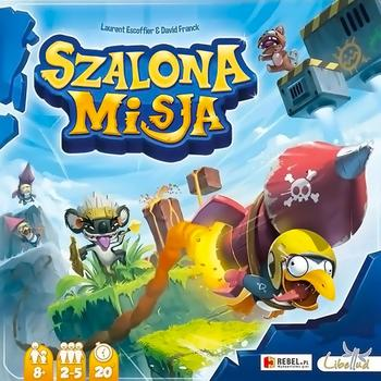 Szalona Misja (Okładka gry)