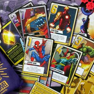 Elementy gry (Marvel: Rękawica Nieskończoności)