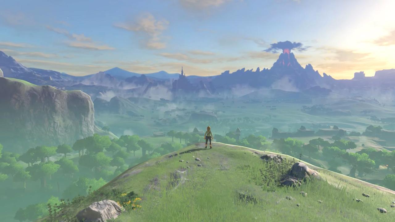 Link w grze The Legend of Zelda: Breath of the Wild