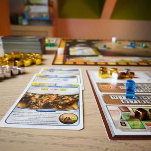 Karta i elementy gry (Terraformacja Marsa)