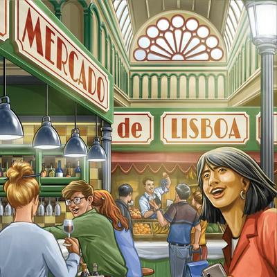 Mercado de Lisboa (Okładka gry)