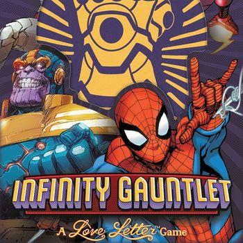 Marvel: Rękawica Nieskończoności (Okładka gry)