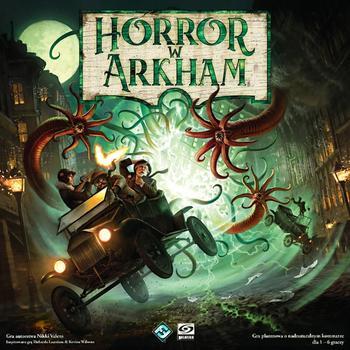 Horror w Arkham (Okładka gry)