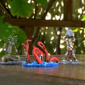 Ręcznie pomalowane figurki Mitologicznych Stworów (Cyklady)