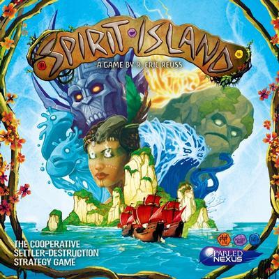Spirit Island (Okładka gry)