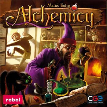 Alchemicy (Okładka gry)