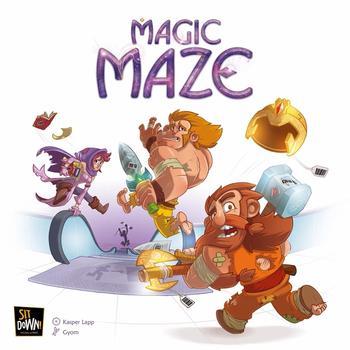 Magic Maze (Okładka gry)