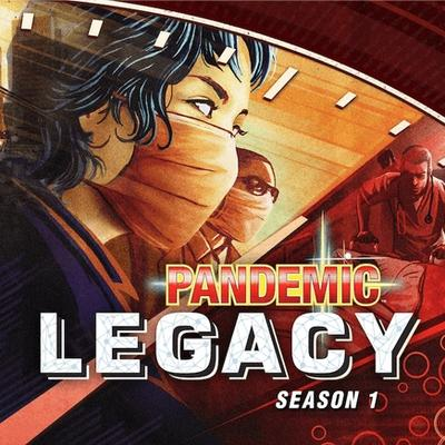 Pandemic Legacy: Sezon 1 (Okładka gry)