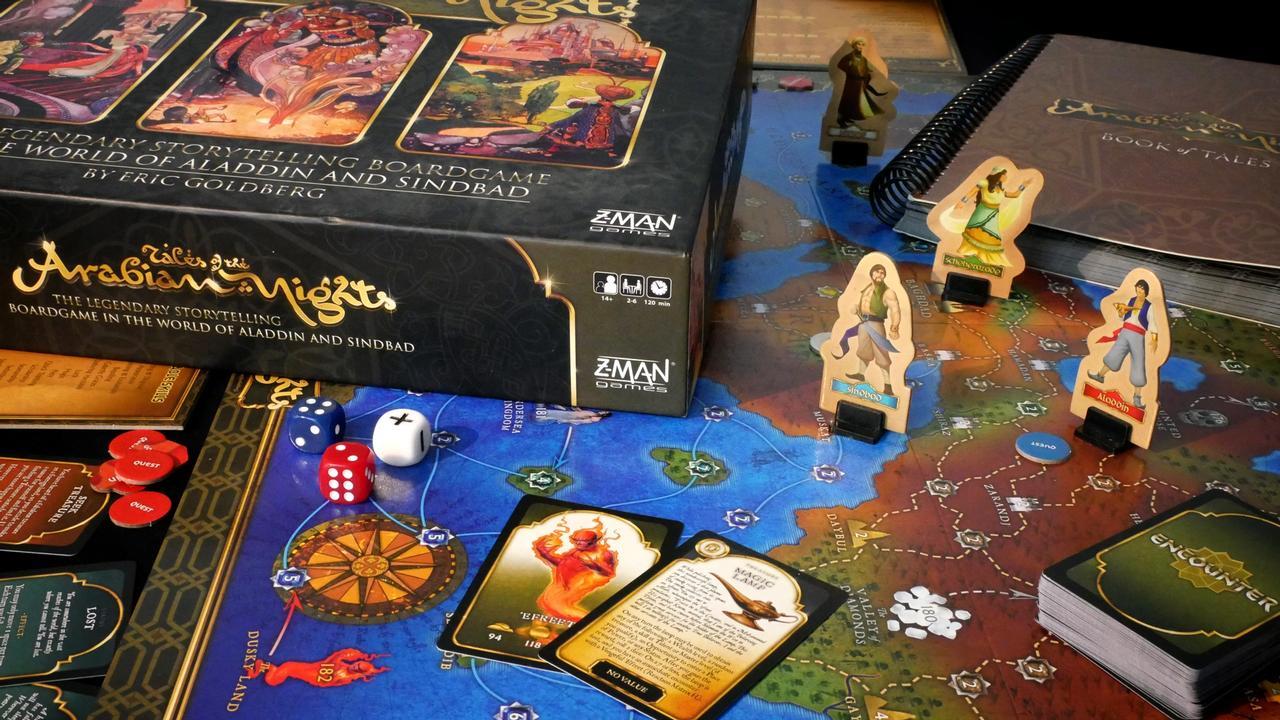 Tales of the Arabian Nights, proj. Anthony J. Gallela, Eric Goldberg, Kevin Maroney, Zev Shlasinger