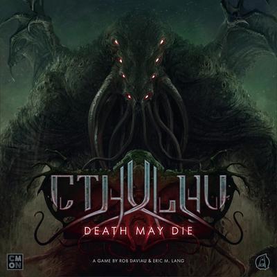 Cthulhu: Death May Die (Okładka gry)