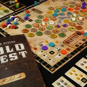 Instrukcja i rozłożona gra (Gold West)