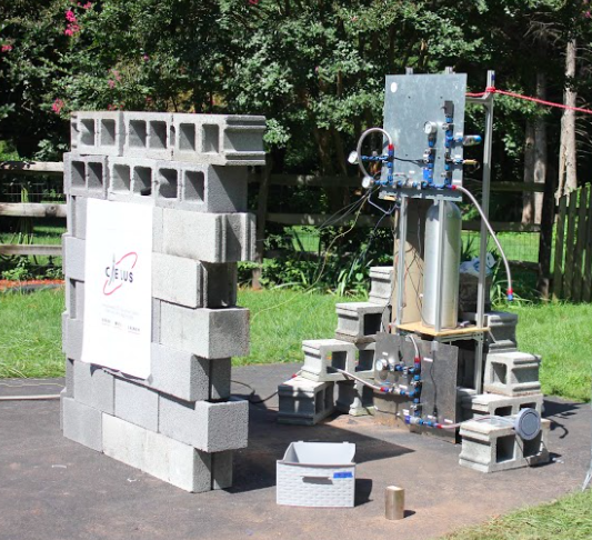 Ethanol cold flow test stand