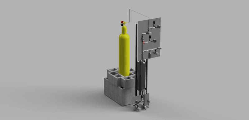Propulsion Cold Flow Update - Test Stand