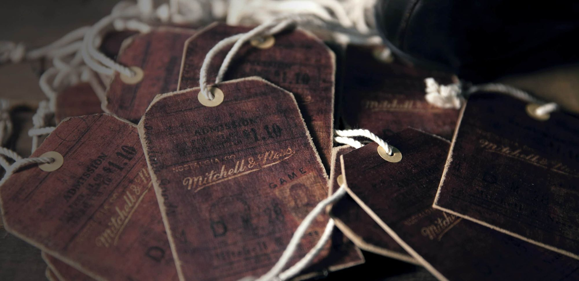 Original Mitchell & Ness Swingtags