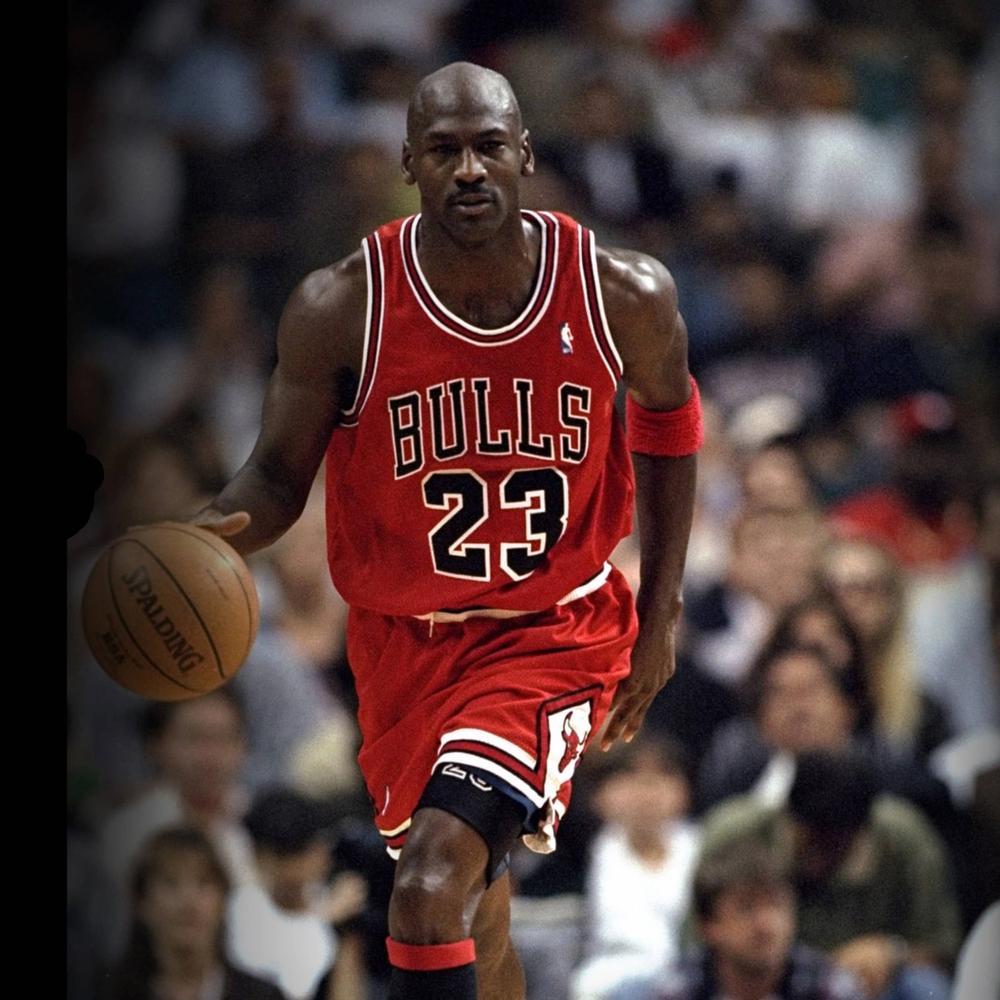 Michael Jordan On Court