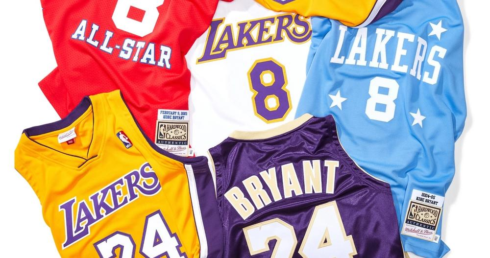 Kobe Authentic Jerseys
