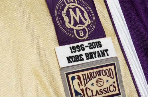 Kobe Bryant 1996-97 LA Lakers Hall of Fame Authentic Jersey