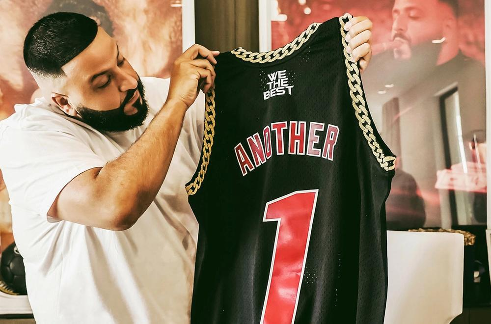 DJ Khaled Miami Heat Jersey - Bleacher Report Remix