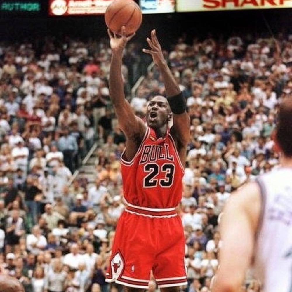 Michael Jordan Shooting