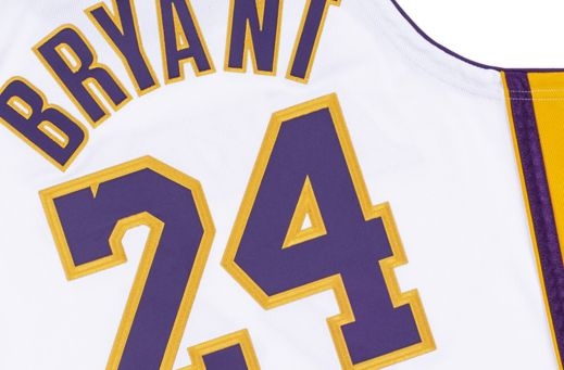 KOBE BRYANT 2009-10 L.A LAKERS HOME AUTHENTIC JERSEY