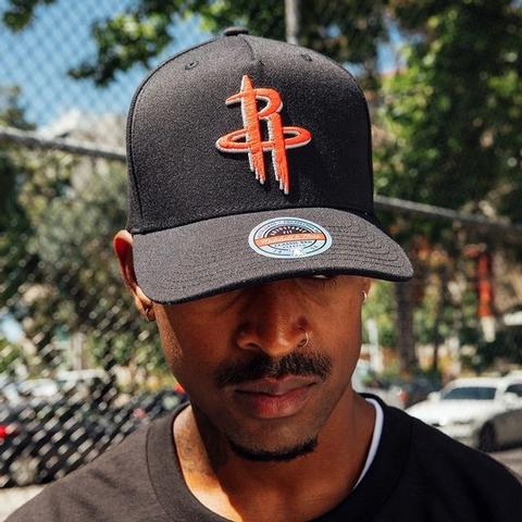 Our new Classic Red headwear is a must h...  Take your hat game to the next level. . . . . #HoustonRockets #Houston #Rockets #NBA #MitchellAndNess