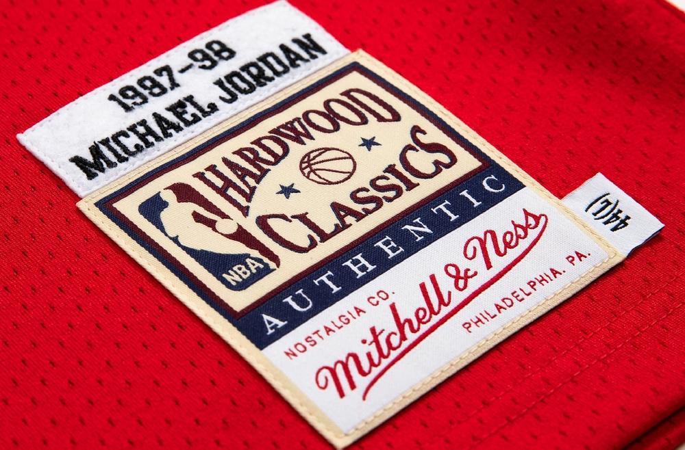 Michael Jordan 1997-98 Jocktag