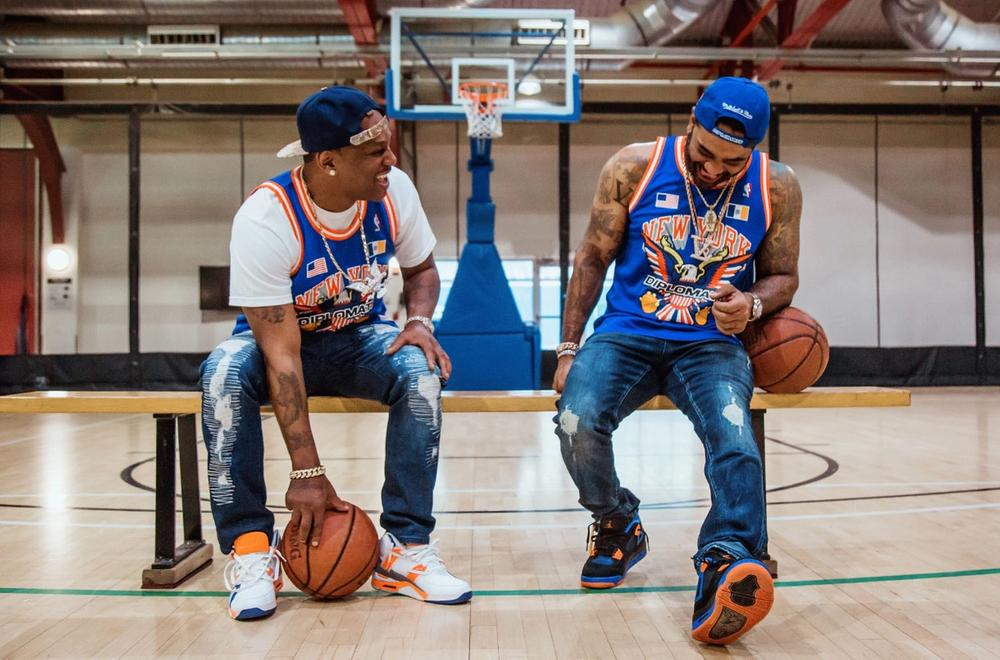 The Diplomats New York Knicks Jerseys - Bleacher Report Remix