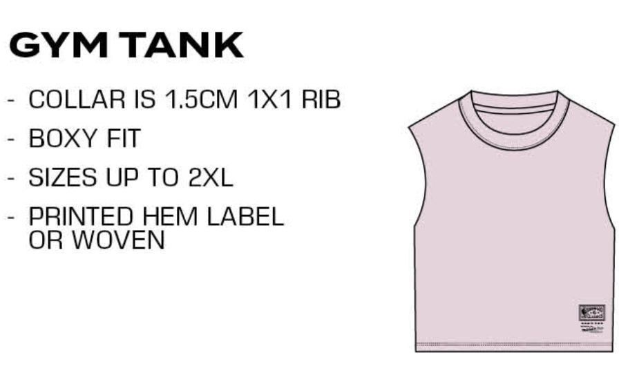 Gym Tank