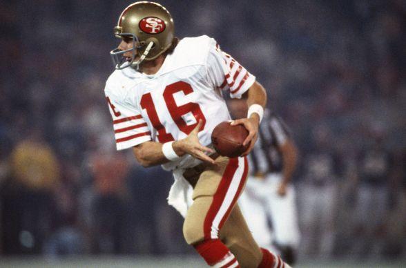 NFL 49er's Hero Joe Montana