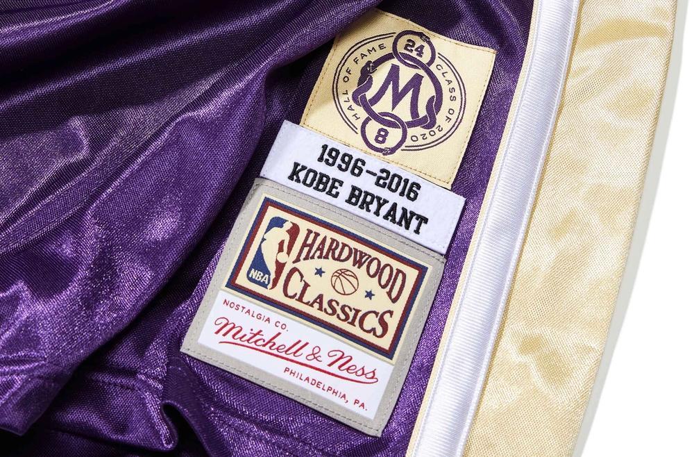 Kobe Authentic Jersey Jocktags