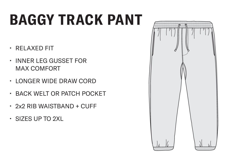 Men's Baggy Track Pant