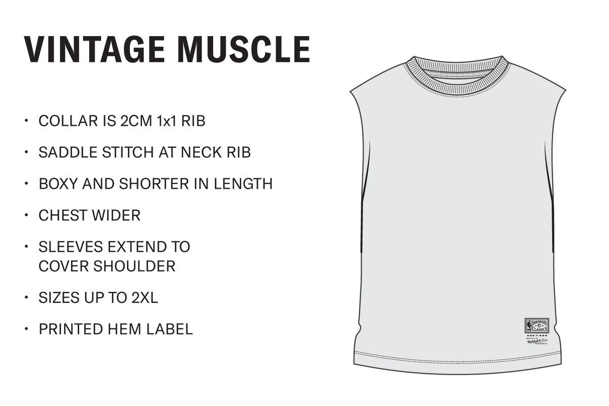 Men's Vintage Muscle Tank