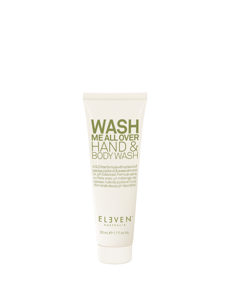 Wash Me All Over Hand & Body Wash Travel Size 50ml