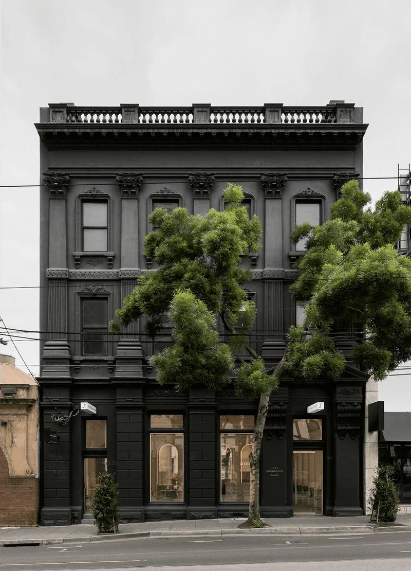 Salon facade