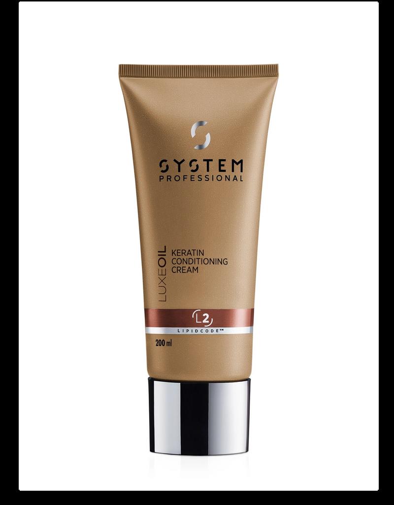 Luxe Oil Keratin Conditioning Cream 200ml