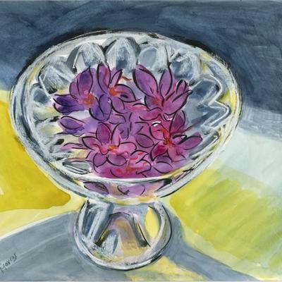 Flores de azafrán