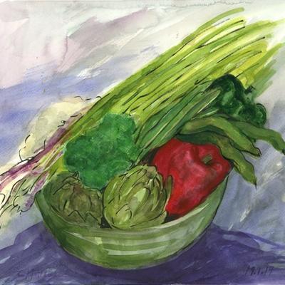 Verduras para arroz