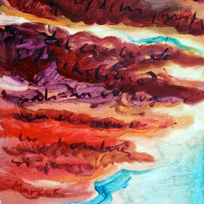 """Puertas del cielo I (18º3'E59º19'30""""N Estocolmo) Variación 9. Nubes"""