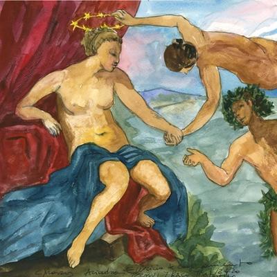 Ejercicio de confinamiento nº 18. Ariadna, Venus y Baco (Tintoretto)